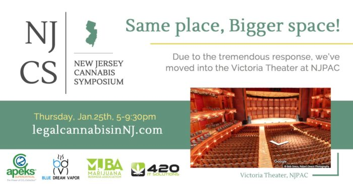 Cannabis Symposium in Victoria Theater at NJPAC