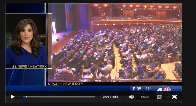 NBC 4's video of the crowd at the NJ Cannabis Symposium